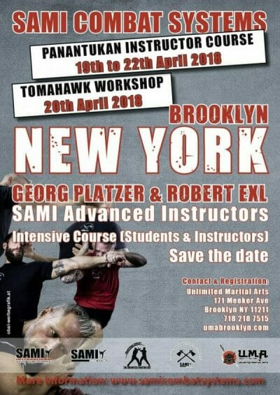 unlimited martial arts brooklyn SAMI CS Panantukan